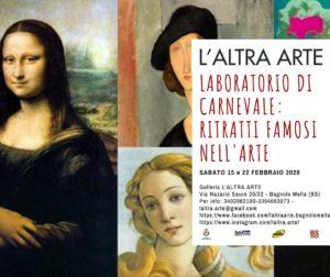 Laboratorio di Carnevale per bambini @ L'Altra Arte Bagnolo Mella | Bagnolo Mella | Lombardia | Italia