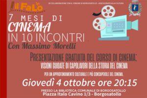 7 mesi di cinema a Borgosatollo @ Biblioteca Borgosatollo | Borgosatollo | Italia