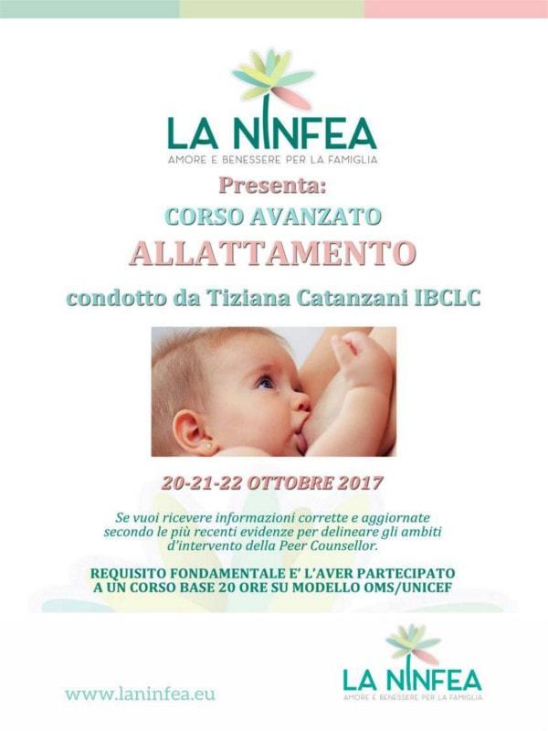 Corso avanzato allattamento @ Centro La Ninfea | Lonato | Lombardia | Italia