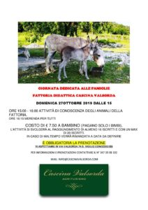 Giornata dedicata alle famiglie in Cascina Valsorda @ Cascina Valsorda | San Vigilio | Lombardia | Italia
