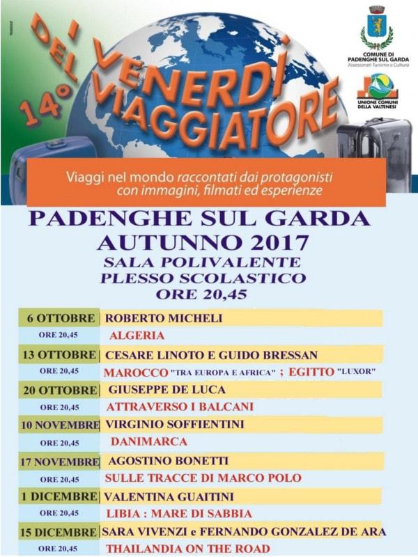 I venerdì del viaggiatore @  Sala polivalente scuole Padenghe | Padenghe Sul Garda | Lombardia | Italia