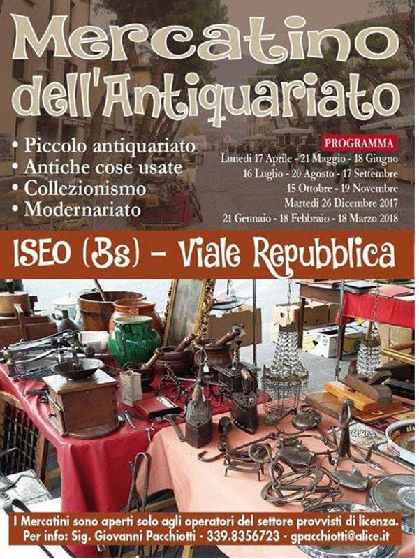 Mercatino antiquariato a Iseo @ Iseo | Iseo | Lombardia | Italia