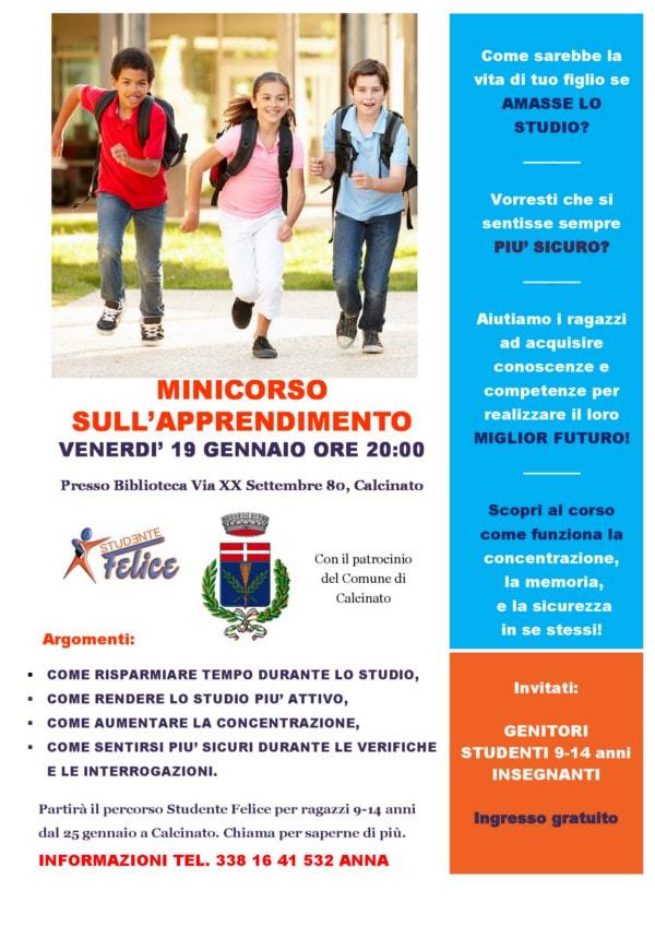 Mincorso sull'apprendimento - Calcinato @ Biblioteca Calcinato | Calcinato | Lombardia | Italia
