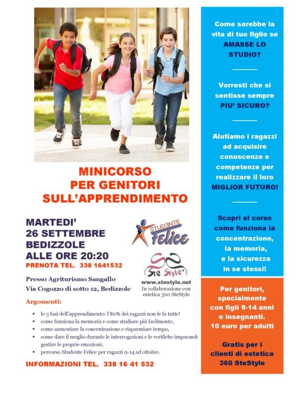 Mincorso per genitori sull'apprendimento - Bedizzole @ Agriturismo Sangallo | Bedizzole | Lombardia | Italia