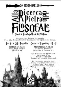 Caccia alla Pietra Filosofale @ ritrovo Acli Prealpino   Brescia   Lombardia   Italia