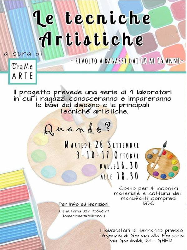 Tecniche Artistiche @ Ag. Servizi alla Persona Ghedi | Ghedi | Lombardia | Italia