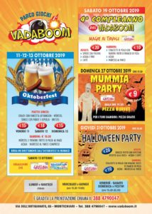 Ottobre al Vadaboom @ parco Vadaboom | Madonnina, Montichiari | Lombardia | Italia