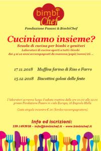 Cuciniamo insieme? @ Fondazione Fasani Bagnolo Mella | Bagnolo Mella | Lombardia | Italia