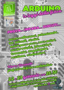 Arduino: le leggi della fisica @ Biblioteca di Concesio | Concesio | Lombardia | Italia