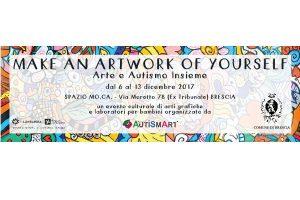 Make an artwork of yourself- Arte e Autismo insieme @  Mo.Ca. - Sala Scacchi | Brescia | Lombardia | Italia