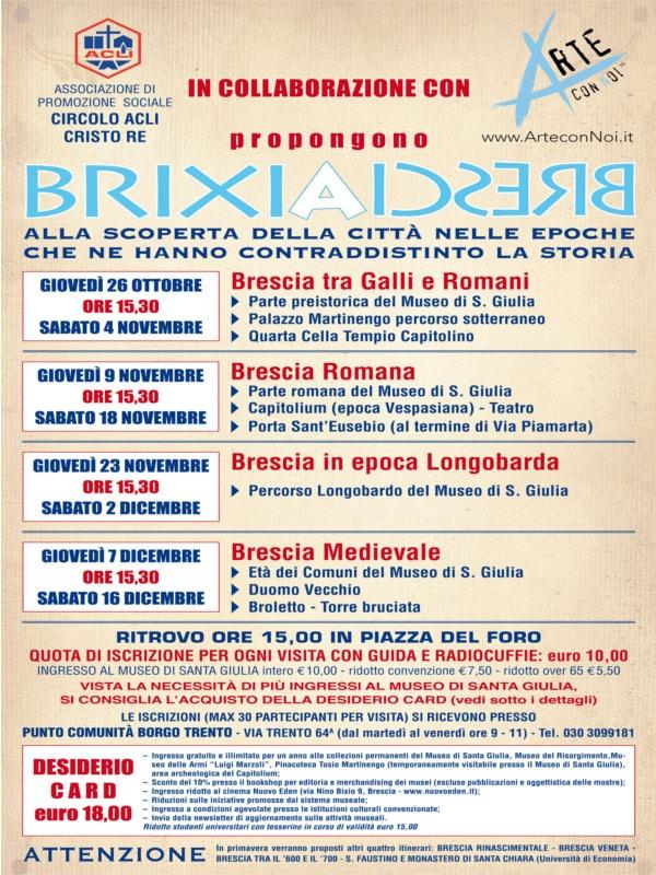 Brixia Brescia @ ritrovo Piazza del Foro Brescia | Brescia | Lombardia | Italia