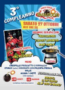 Tanti auguri Vadaboom @ Vadaboom | Madonnina, Montichiari | Lombardia | Italia