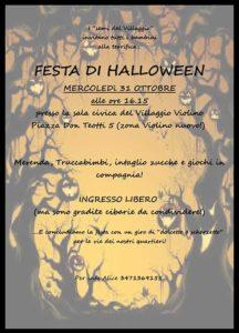 Festa di Halloween @ sala civica Villaggio Violino | Brescia | Lombardia | Italia