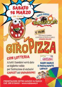 Giropizza al Vadaboom @ Vadaboom Montichiari | Madonnina, Montichiari | Lombardia | Italia