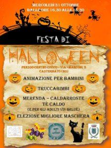 Festa di Halloween a Castegnato @ Castegnato - Centro Civico  | Castegnato | Lombardia | Italia
