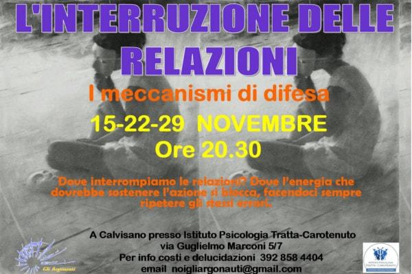 L'Interruzione delle relazioni @ Istituto Psicologia Tratta-Carotenuto | Calvisano | Lombardia | Italia
