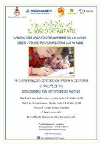 Laboratori creativi a Tavernole @ Centro Prima Infanzia a Tavernole s/M | Tavernole sul Mella | Lombardia | Italia