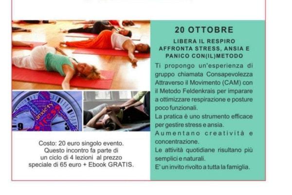 Libera il respiro, affronta lo stress @ Brescia | Brescia | Lombardia | Italia