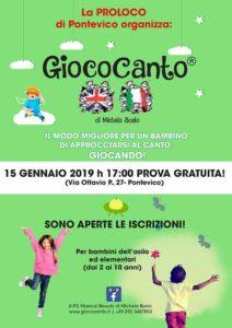 Open day Giococanto @ Pontevico | Pontevico | Lombardia | Italia