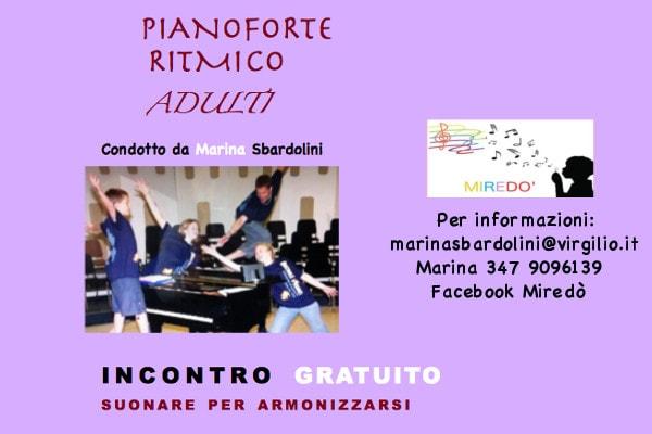 pianoforte ritmico adulti
