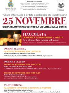 Fiaccolata contro la violenza sulle donne e non solo @ Darfo Boario Terme | Darfo | Lombardia | Italia