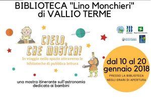 Cielo che mostra! a Vallio Terme @ Biblioteca di Calvagese della Riviera | Calvagese della Riviera | Lombardia | Italia