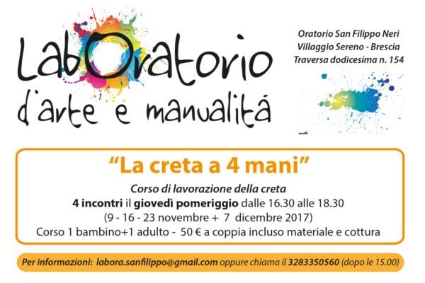 Creta a 4 mani @ Oratorio S. Filippo Neri Villaggio Sereno Brescia | Brescia | Lombardia | Italia