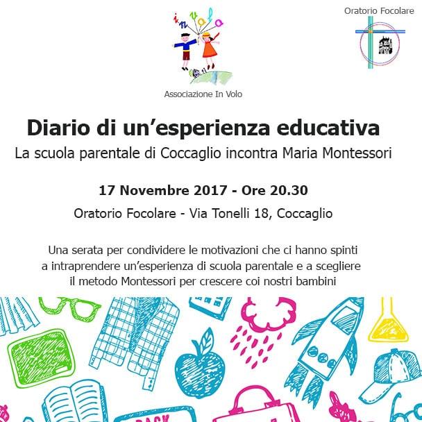 Diario di un'esperienza educativa @ Oratorio Focolare - Coccaglio | Coccaglio | Lombardia | Italia