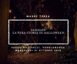 Samhain - la vera storia di Halloweeen @ Parco Nocivelli | Verolanuova | Lombardia | Italia