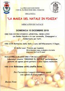 La magia del Natale in Piazza a Esine @ Esine | Esine | Lombardia | Italia