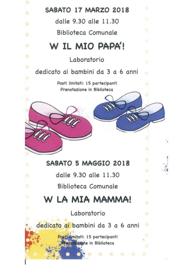 Laboratori creativi per mamma e papà @ Biblioteca di Ghedi | Ghedi | Lombardia | Italia