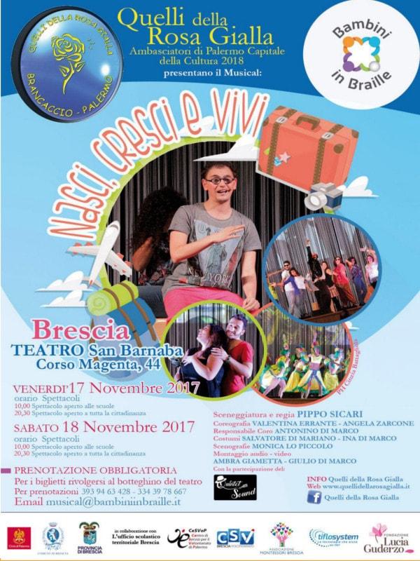 Nasci Cresci Vivi - il Musical @ Teatro San Barnaba | Brescia | Lombardia | Italia