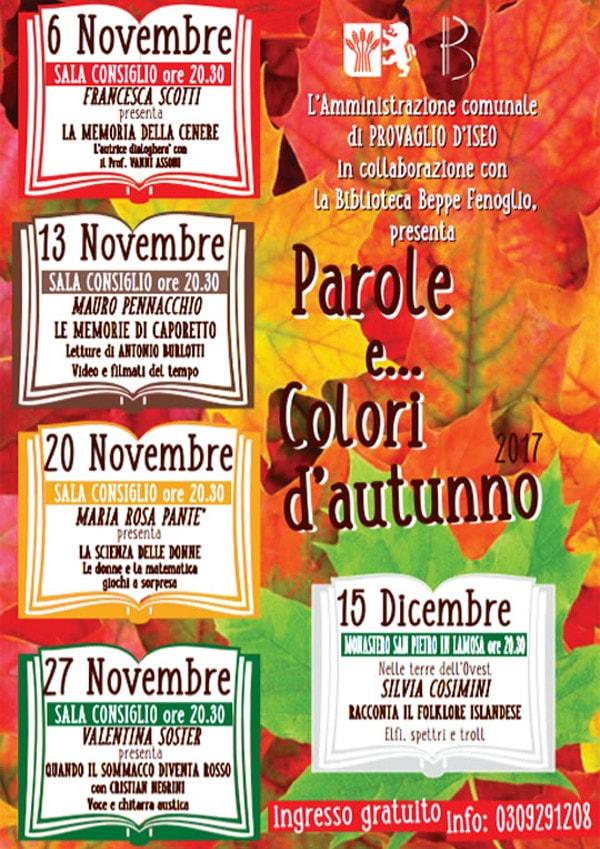 Parole e colori d'autunno @ Provaglio d'Iseo | Fontane-zurane-gresine | Lombardia | Italia