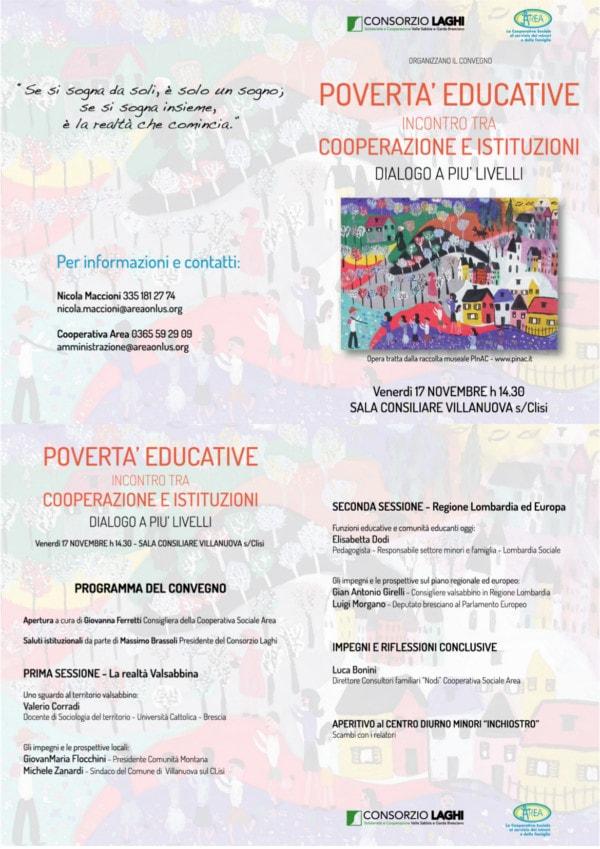 Povertà educative @ Municipio Di Villanuova Sul Clisi | Villanuova Sul Clisi | Lombardia | Italia