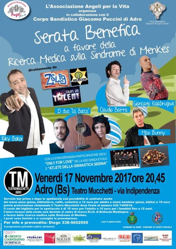 Serata Benefica - Cabaret @ Teatro Mucchetti Adro | Adro | Lombardia | Italia