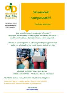 Strumenti compensativi, facciamo chiarezza! @ Liceo F. De Andrè | Brescia | Lombardia | Italia
