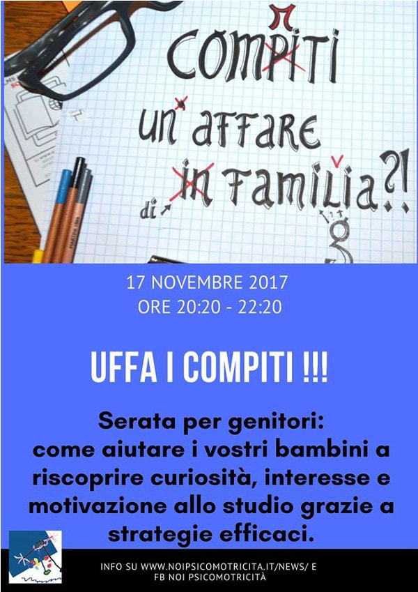 Uffa i compiti! @  Noi Psicomotricità - Psicomotricità relazionale  | Brescia | Lombardia | Italia