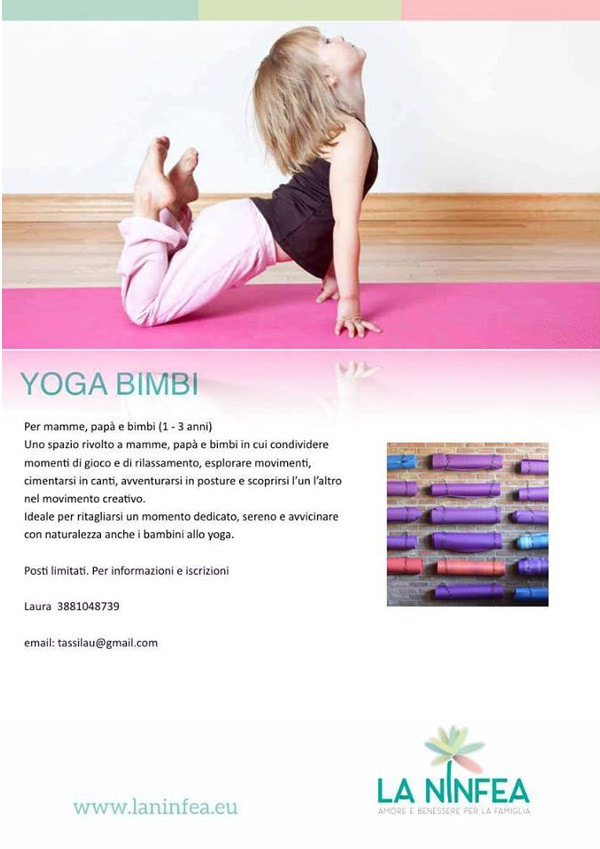 Yoga bimbi @ Centro La Ninfea | Lonato | Lombardia | Italia