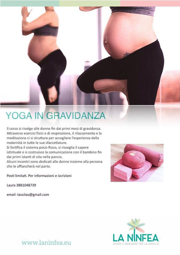Yoga in gravidanza @ Centro La Ninfea | Lonato | Lombardia | Italia