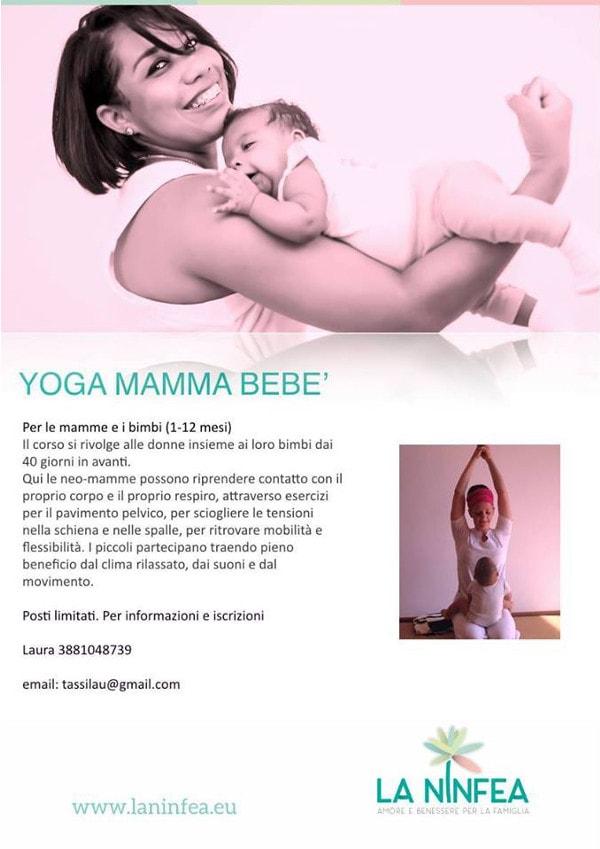 Yoga mamma bebè @ Centro La Ninfea | Lonato | Lombardia | Italia