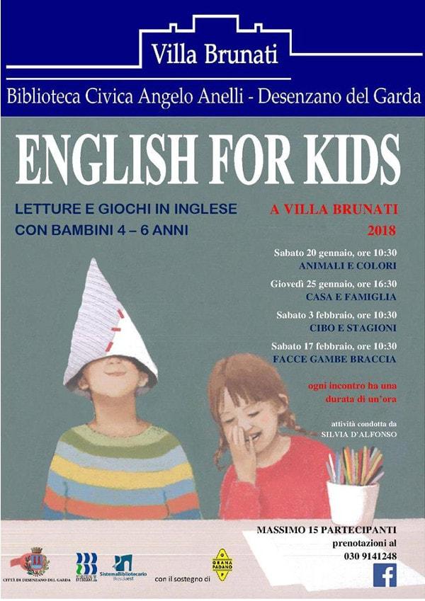English for Kids a Desenzano