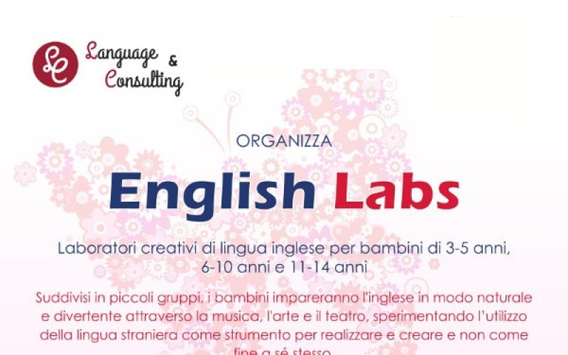 English Labs : Lingua Inglese per bambini