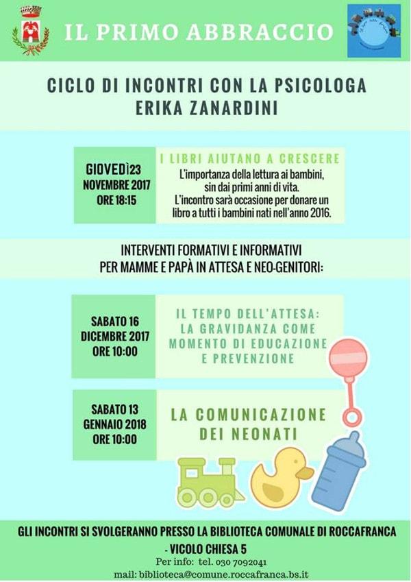 Il primo abbraccio @ Biblioteca di Roccafranca | Roccafranca | Italia