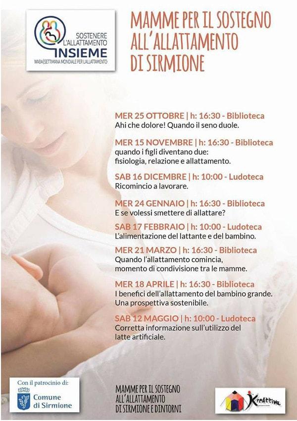Insieme per l'allattamento @ Biblioteca Sirmione | Sirmione | Lombardia | Italia