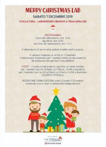 Merry Christmas Lab all'asilo La Vittoria @ Fondazione La Vittoria | Adro | Lombardia | Italia