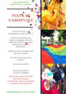 Carnevale a Colleincanto @ Colleincanto   Gavardo   Lombardia   Italia