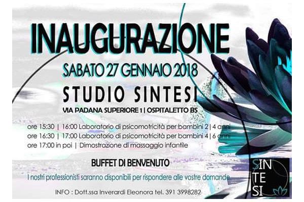 Inaugurazione Studio Sintesi