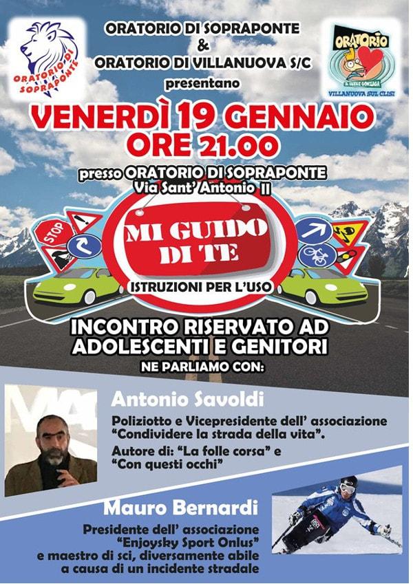 Mi guido di te.. istruzioni per l'uso! @ oratorio di Sopraponte | Gavardo | Lombardia | Italia