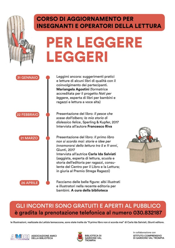 Per leggere leggeri @ Scuola primaria Andersen Gardone  | Gardone Val Trompia | Lombardia | Italia