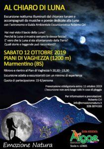 Al chiaro di Luna @ ritrovo pian di Vaghezza | Caregno | Lombardia | Italia